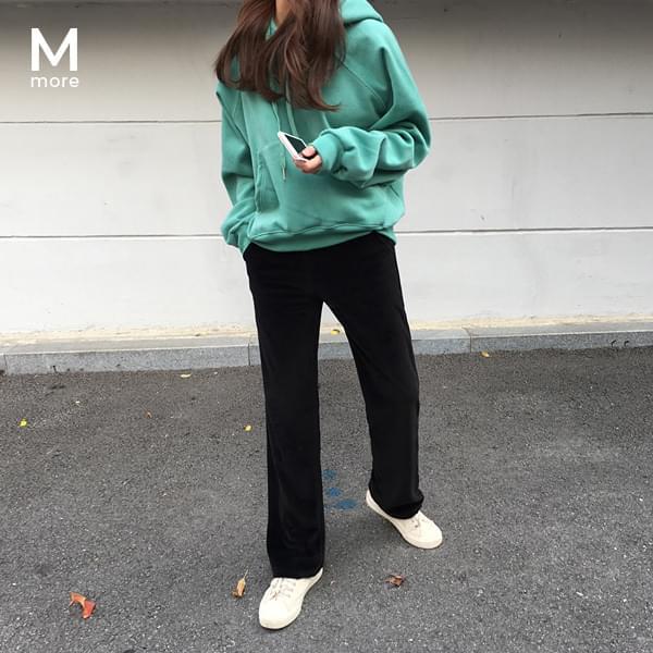 Velvet training pants