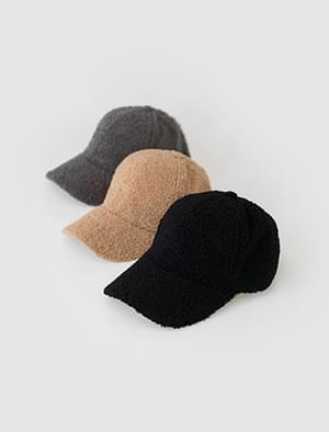 boucle ball cap