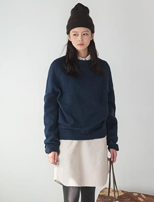 daily long sleeve wool knit