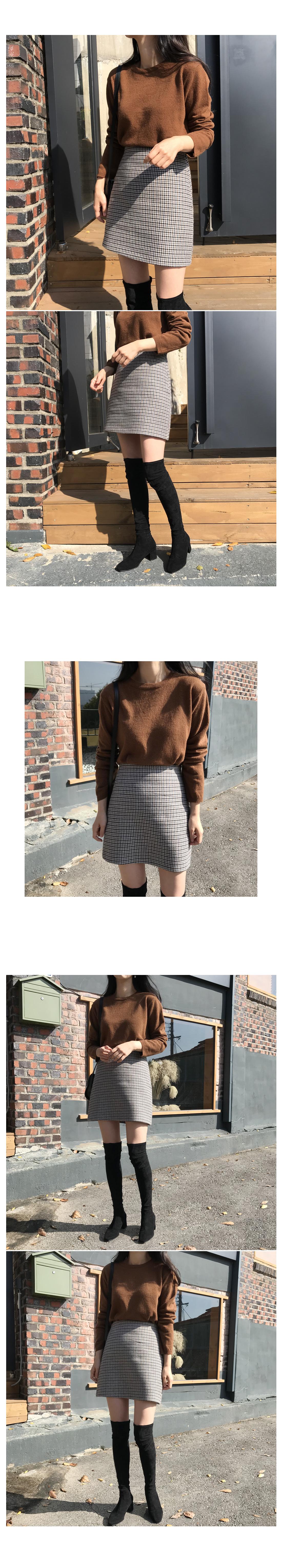 Almond Basic Knit