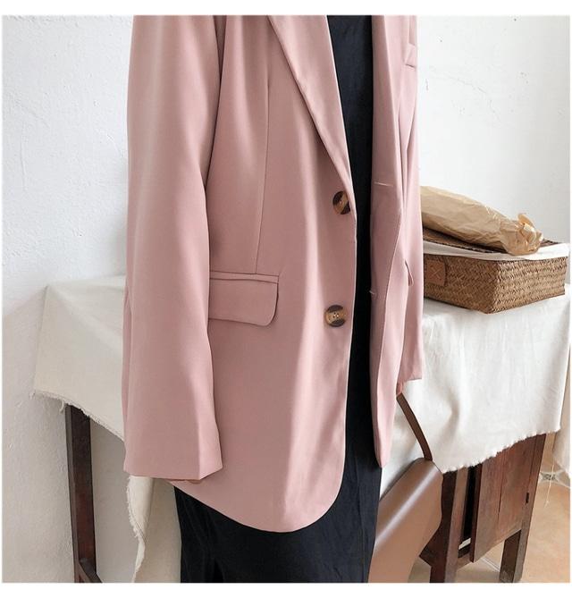Fall Pink Classic Jacket