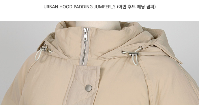 Urban hood padding jumper_S (size : free)
