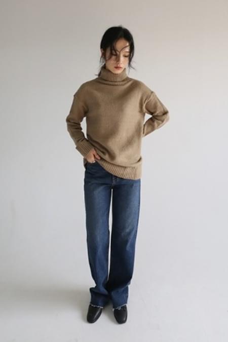 formal long denim pants
