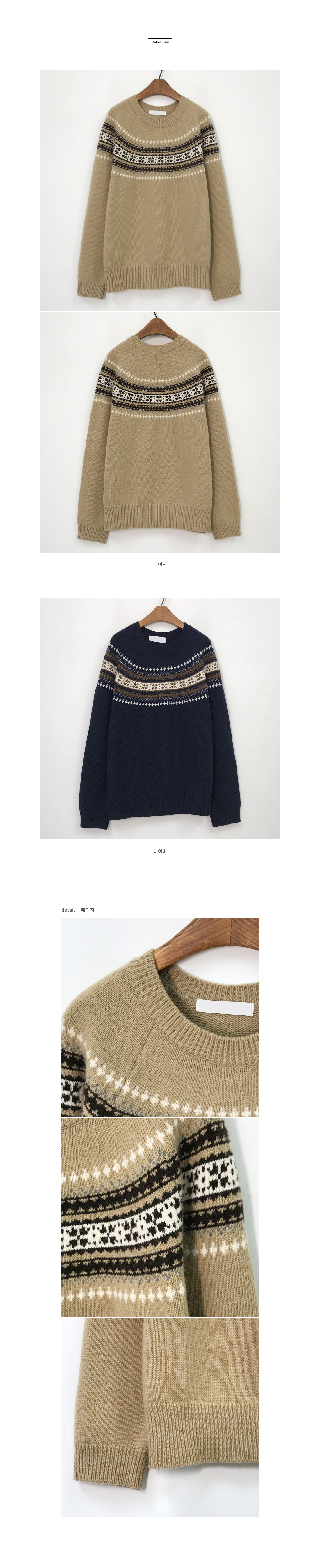 Crover Vintage Knit