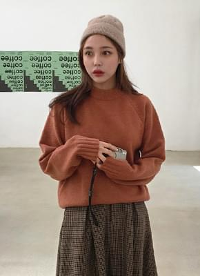 Pitch Round Neck Knit