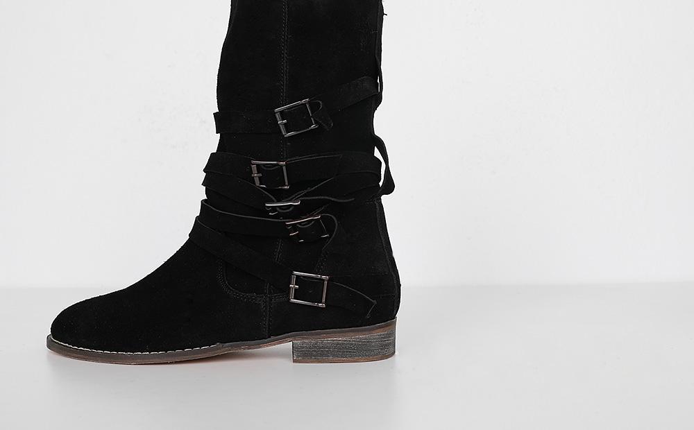 anoria studio ankle boots (2colors)