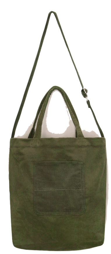 TENDER POCKET CORDUROY BAG