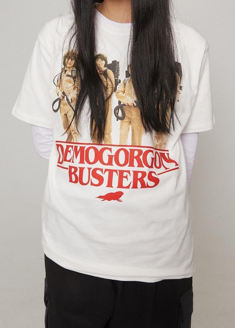 프린팅 루즈핏 티셔츠