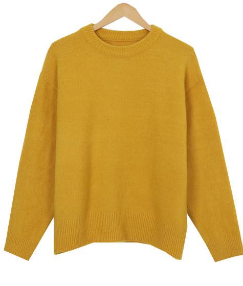 Ruffy round knit