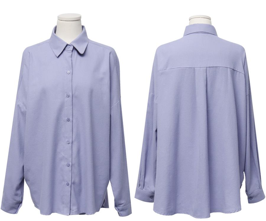 Flavor warm cotton shirts_H (size : free)