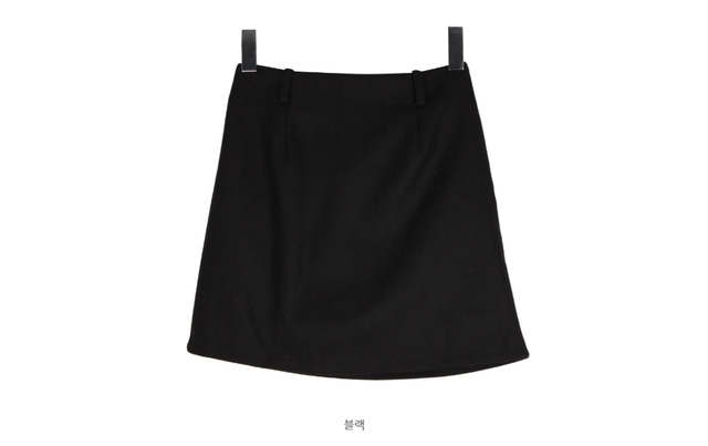 Wool skirt pants belt SET