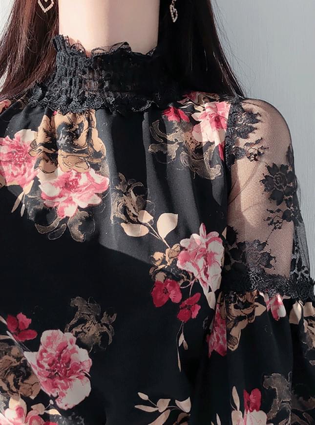 Henasisuru floral blouse