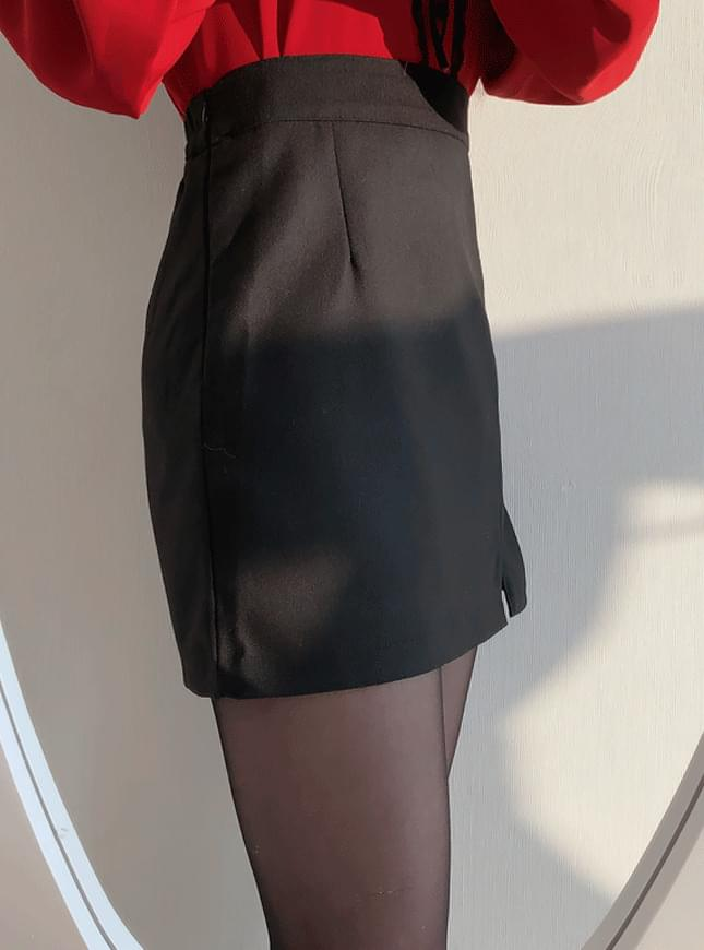 Line line skirt Mini sk