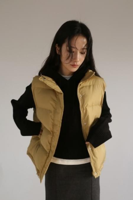 melting padding vest (5color)
