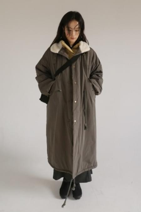 winter field coat (charcoal)