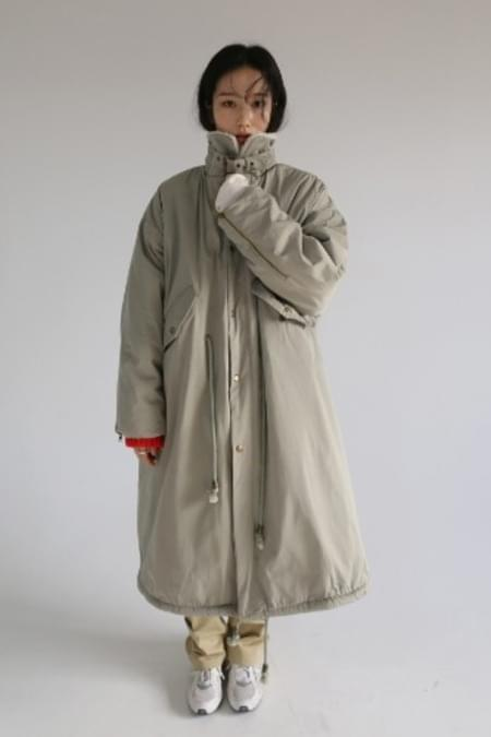 winter field coat (khaki)