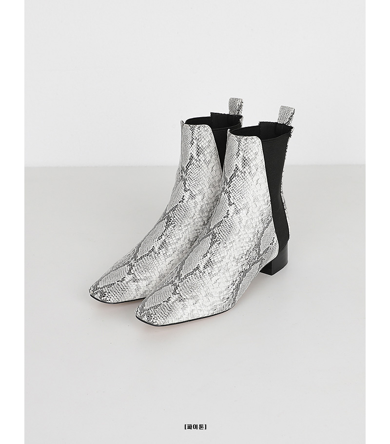 biger banding ankle boots (2colors)