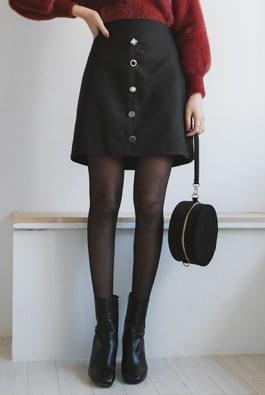 Bling wool skirt