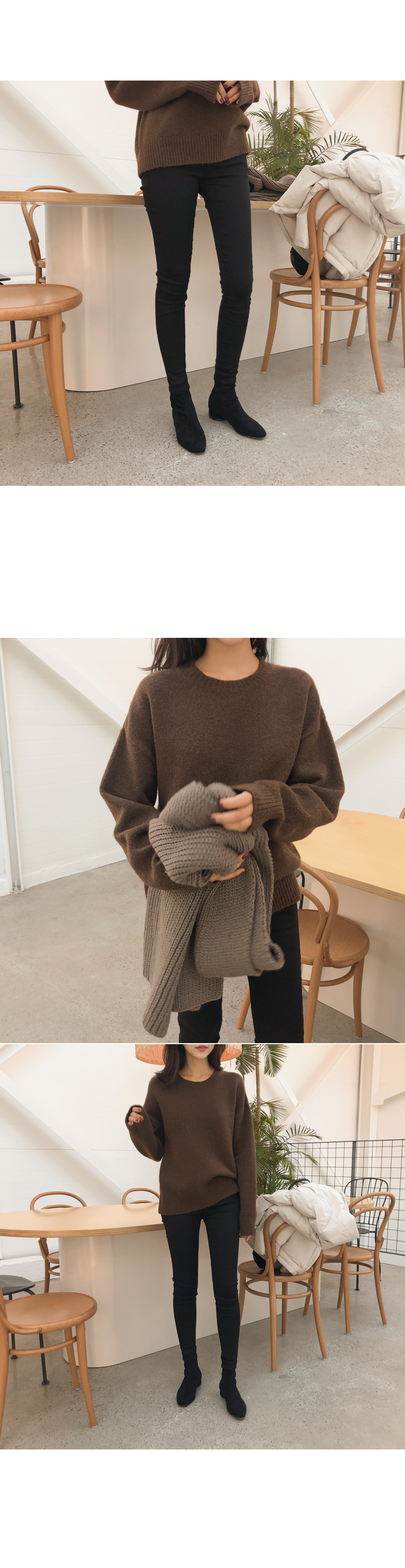Polling Round knit