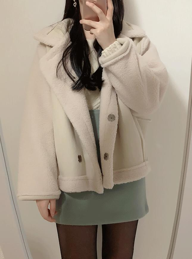 ♥ Teddy Bear Mustang Fleece Jacket