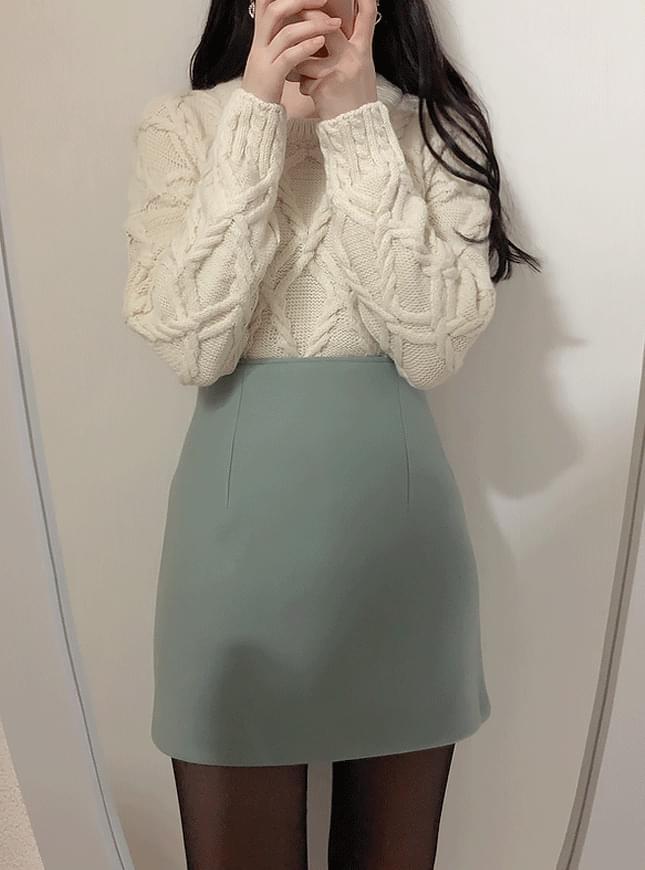 ♥ Marni wool mini sk