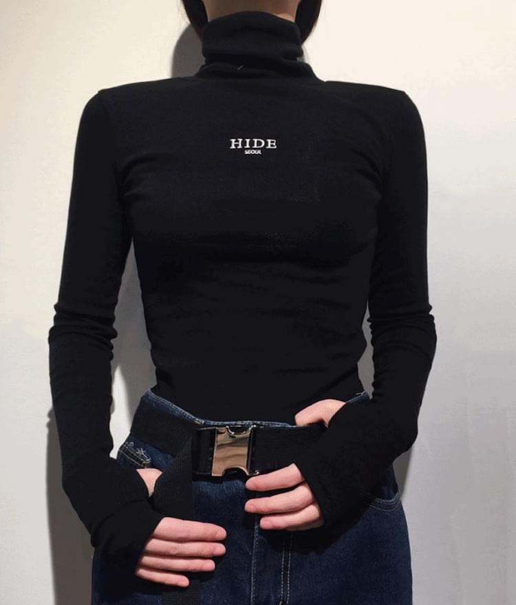 HIDE Warmer High Neck T-shirt