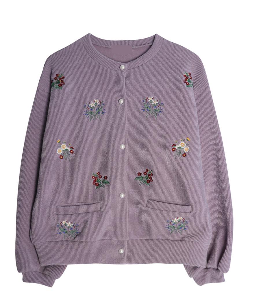 Snow Flower Pearl Cardigan