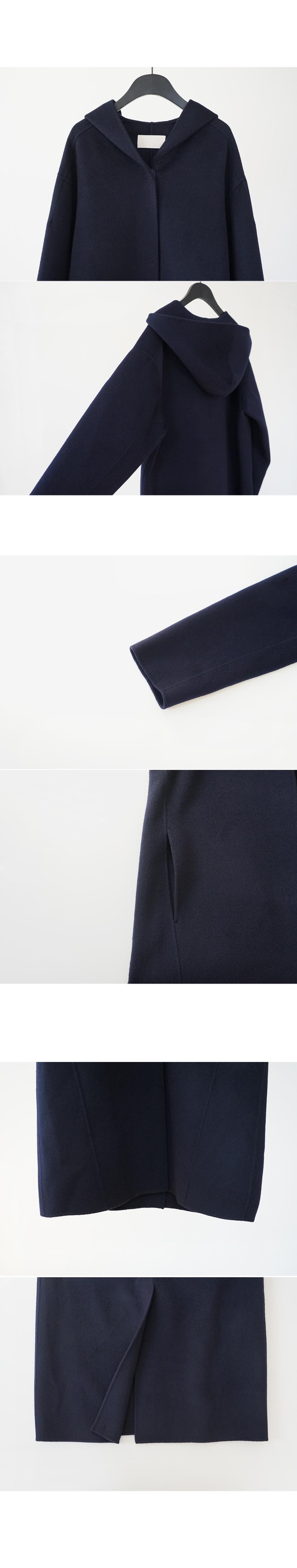 casual hood wool coat (2colors)