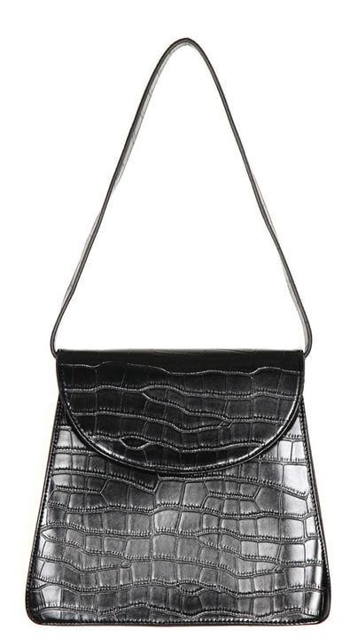 crocodile shoulder bag (2 color)