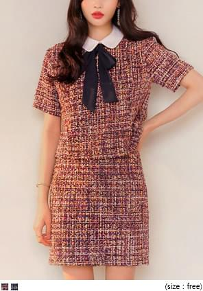 TWINKLE TWEED 2 PIECE TIE SET