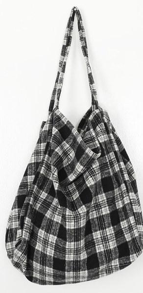 Tender Check Eco Bag
