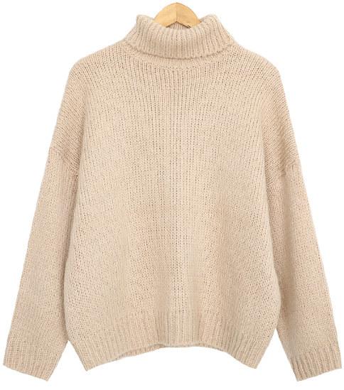 Macaroon Polar Knit