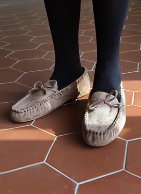 Perry Ribbon Mocha Shoes