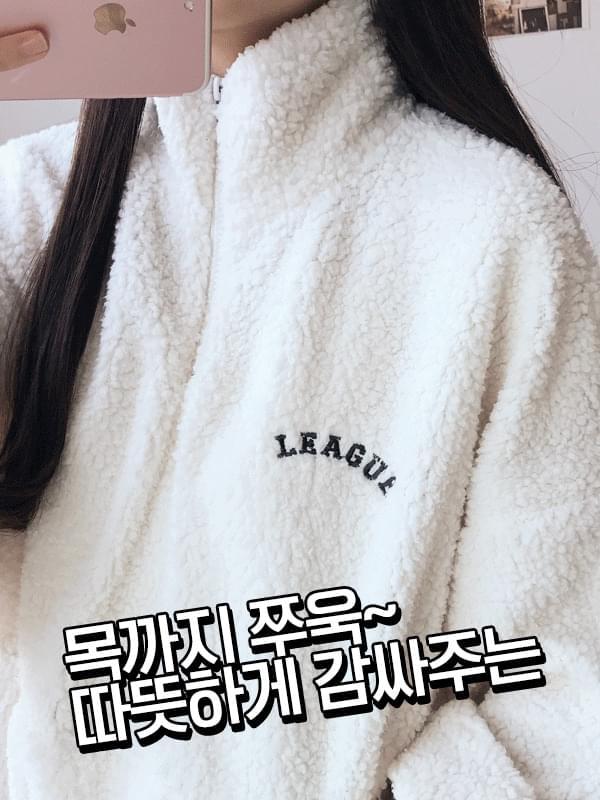 League Patch Fleece Anorak