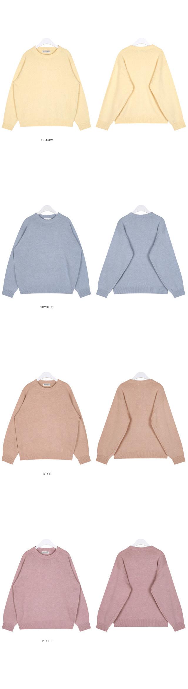 FRESH A wool cozy knit