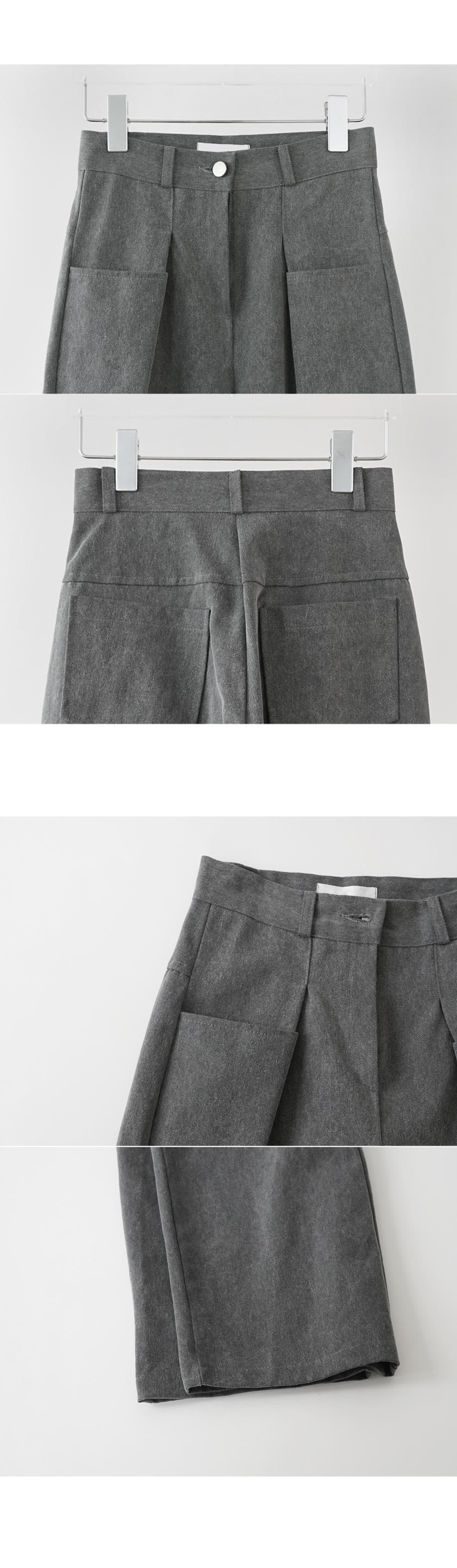 grayish pocket point pants (2colors)
