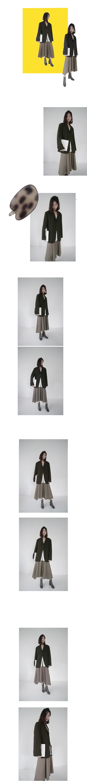 formal flare long skirt (3colors)