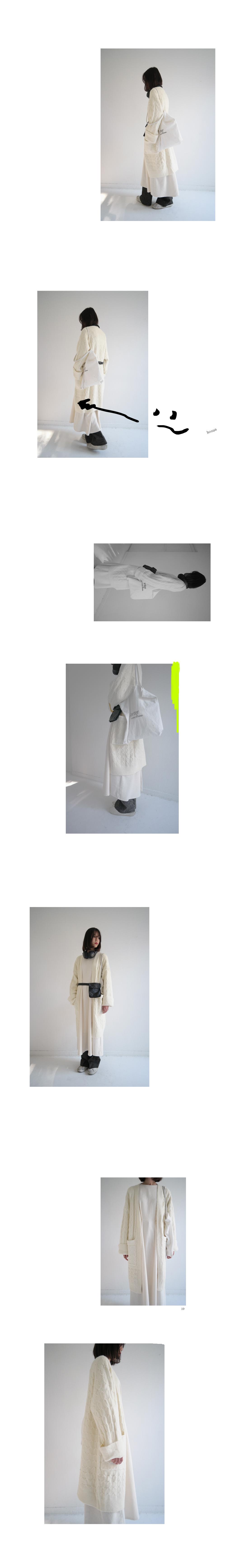 natural cotton pintuck dress