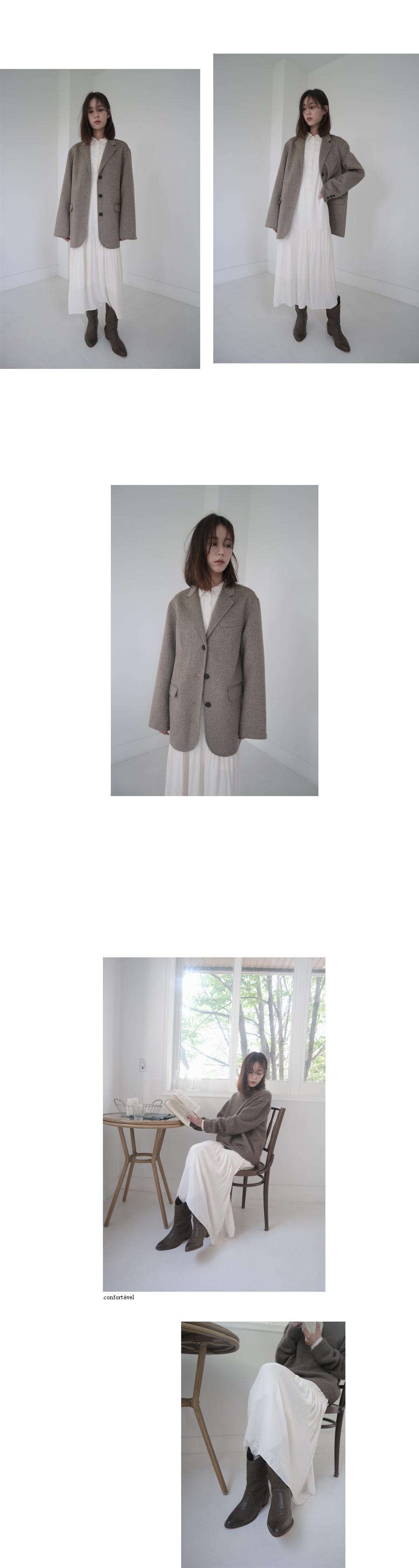 cozy loose-fit knit (4colors)