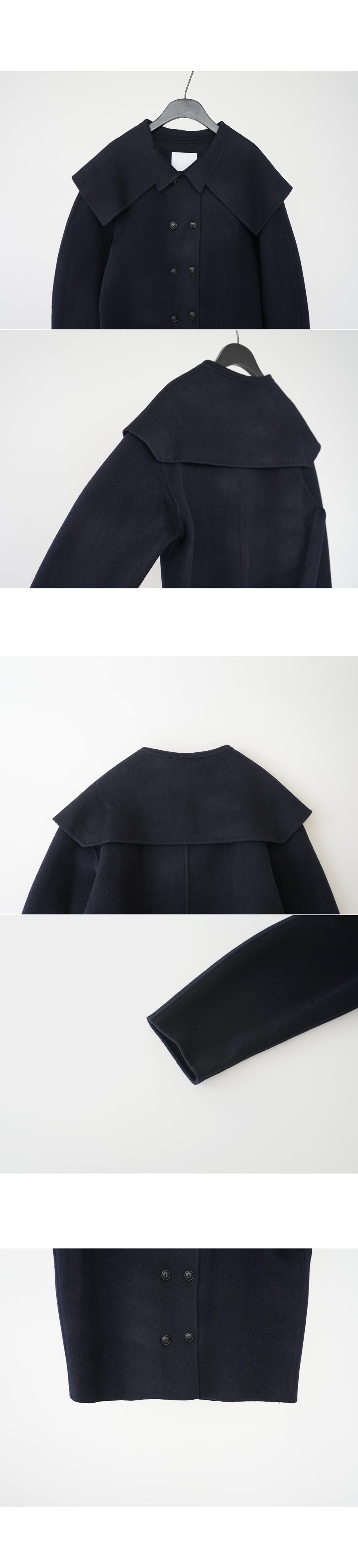 sailor collar detail jacket (3colors)