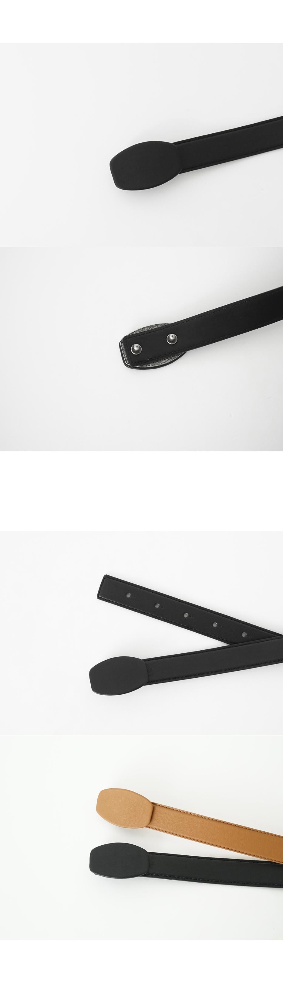 hidden closed belt (2colors)