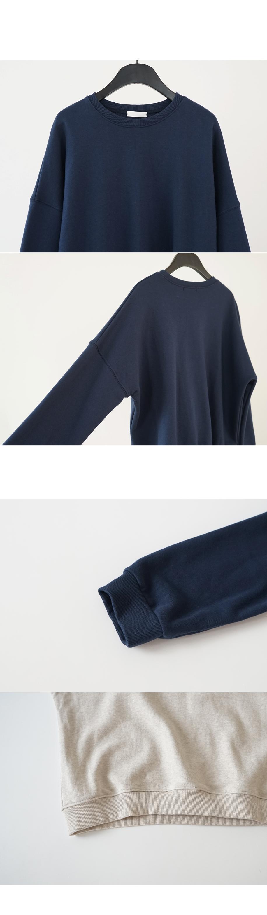 drop shoulder loose mtm (4colors)
