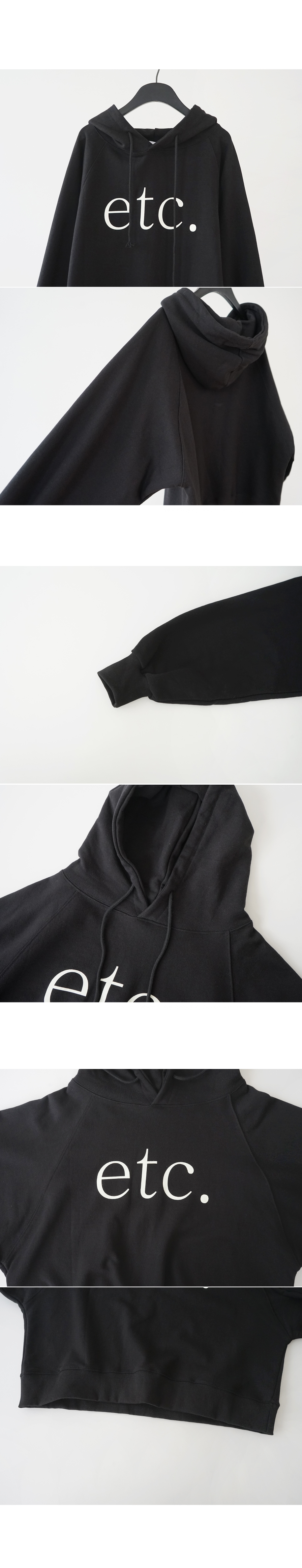 etc lettering hood (3colors)