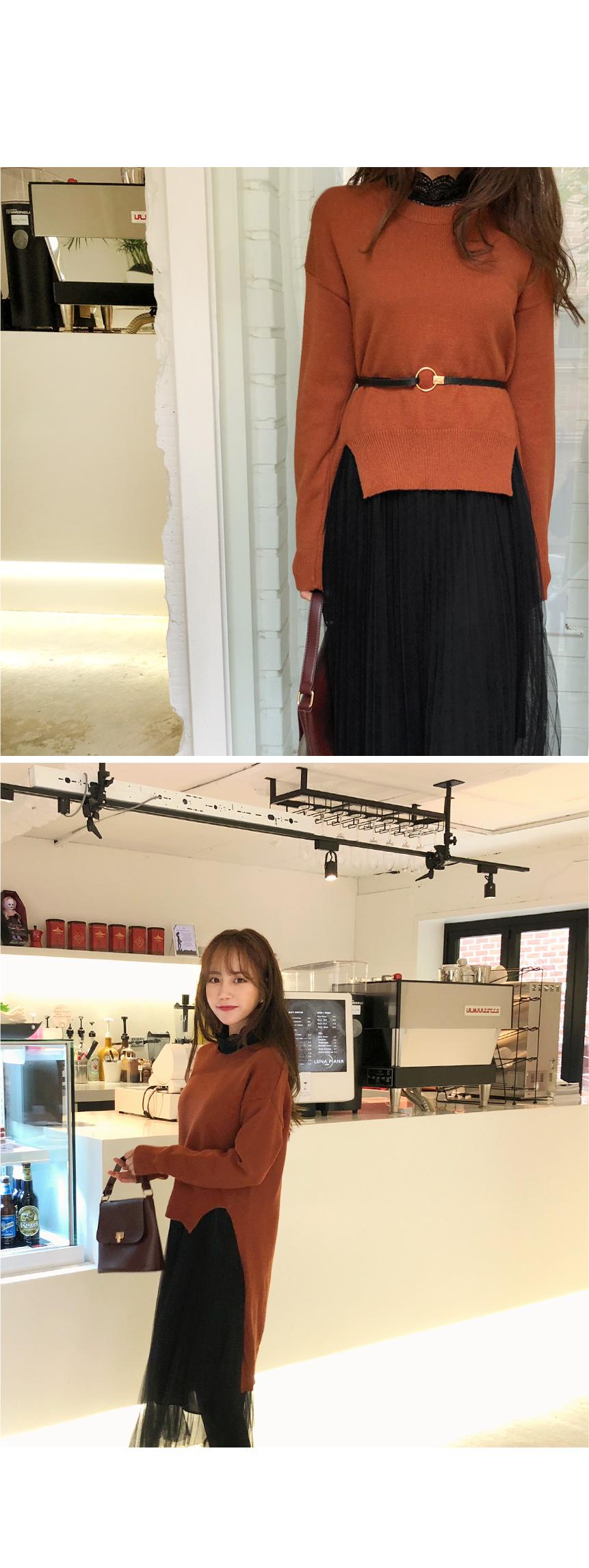 Romantic Day Knit + Dress SET