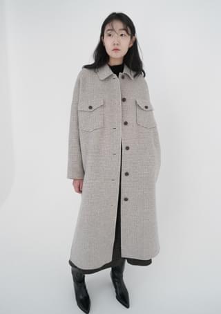 two pocket handmade coat (2colors)