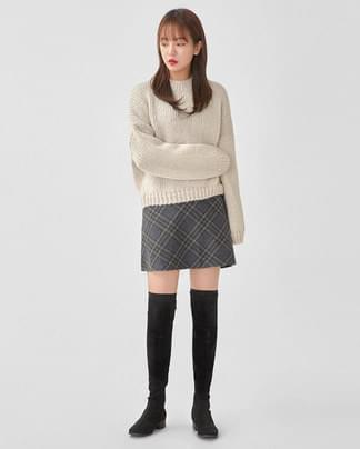 mary hazzi crop knit