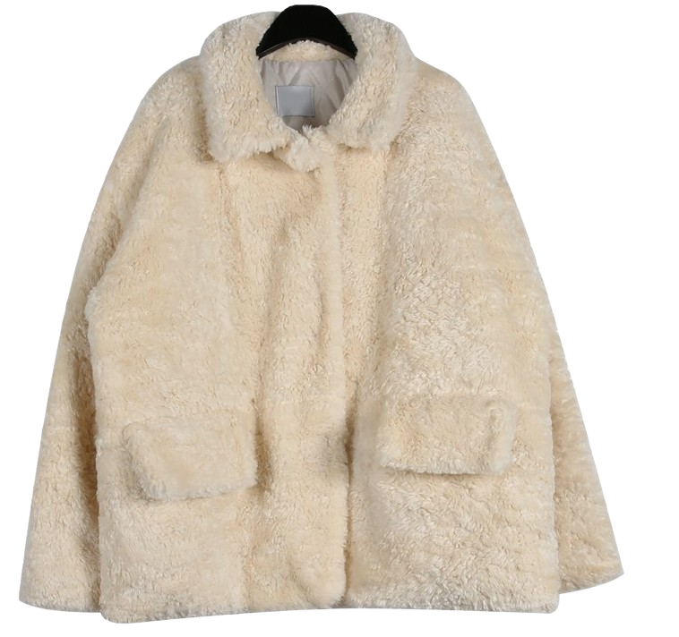 Sensual fur jacket