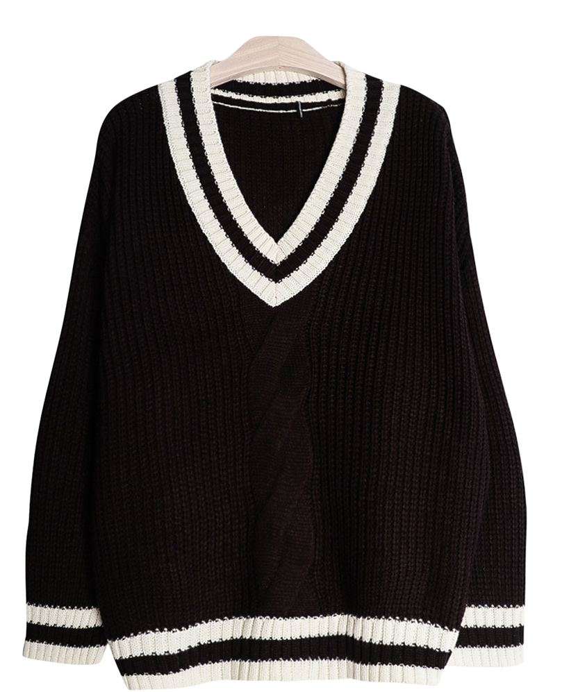 Picasso V neck knit