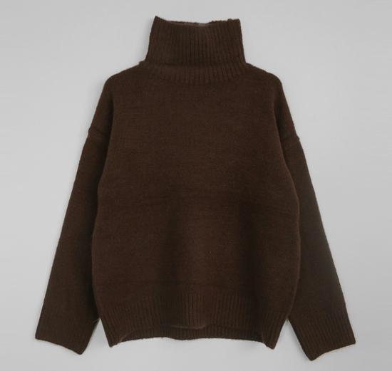 Planning Specials / Marsala - turtleneck knit