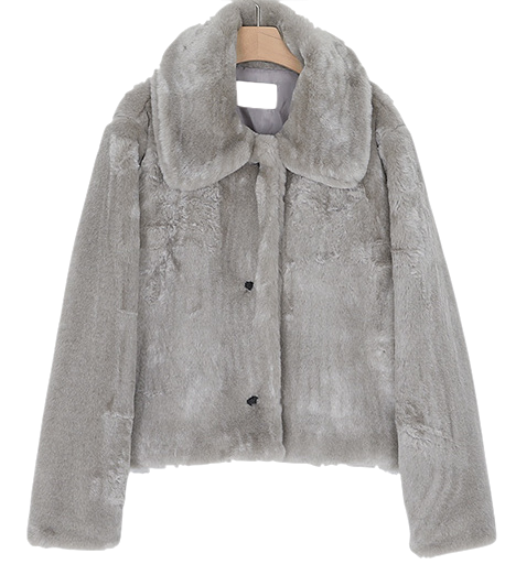 mini coverly fur jacket